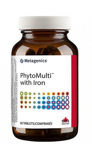 Metagenics PhytoMulti With Iron