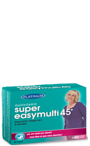 Platinum Naturals Super Easy Multi 45+ for Women
