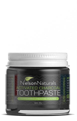 Nelson Naturals Charcoal Toothpaste