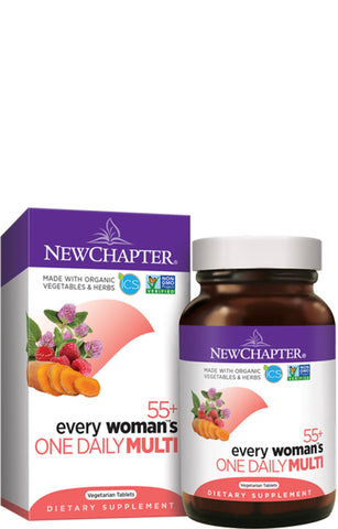 New Chapter Every Woman 55+ Daily Multivitamin