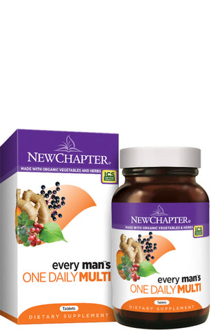 New Chapter Every Man Daily Multivitamin