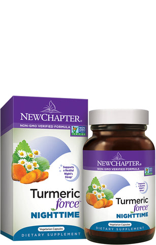 New Chapter Tumeric Force Nighttime