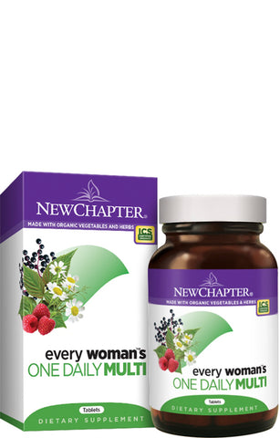 New Chapter Every Woman Daily Multivitamin