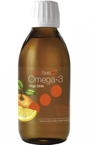NutraSea DHA Omega 3 - Liquid Juicy Citrus Flavour
