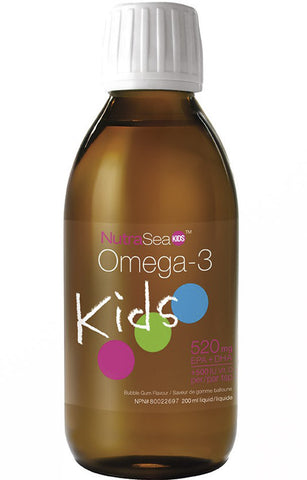 NutraSea  Omega 3 Kids - Bubble Gum