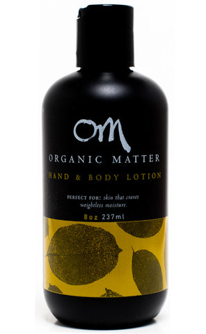 Organic Matter Hand & Body Lotion