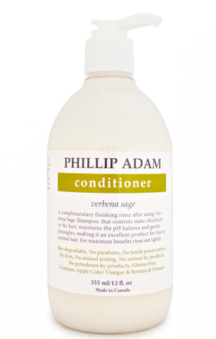 Phillip Adam Conditioner - Verbena Sage 355ml