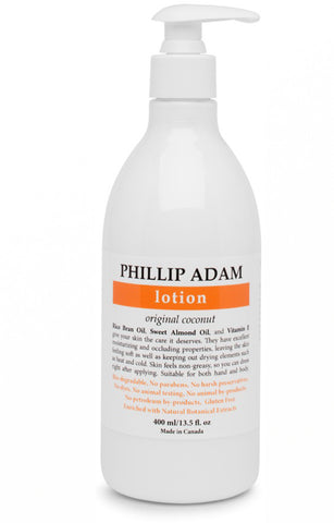 Phillip Adam Lotion - Coconut 400ml