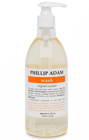 Phillip Adam Wash - Coconut 400ml