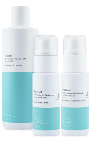 Riversol Anti-Redness Trio - Oily Skin
