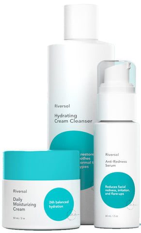 Riversol Anti-Redness Trio - Normal to Dry Skin