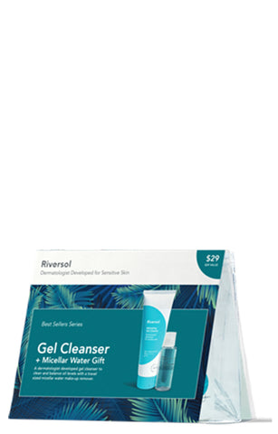 Riversol Gel Cleanser & Micellar Water Gift Set