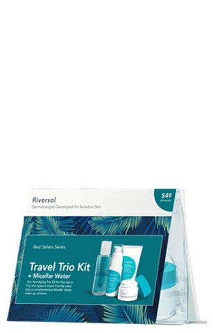Riversol Travel Trio Kit & Micellar Water