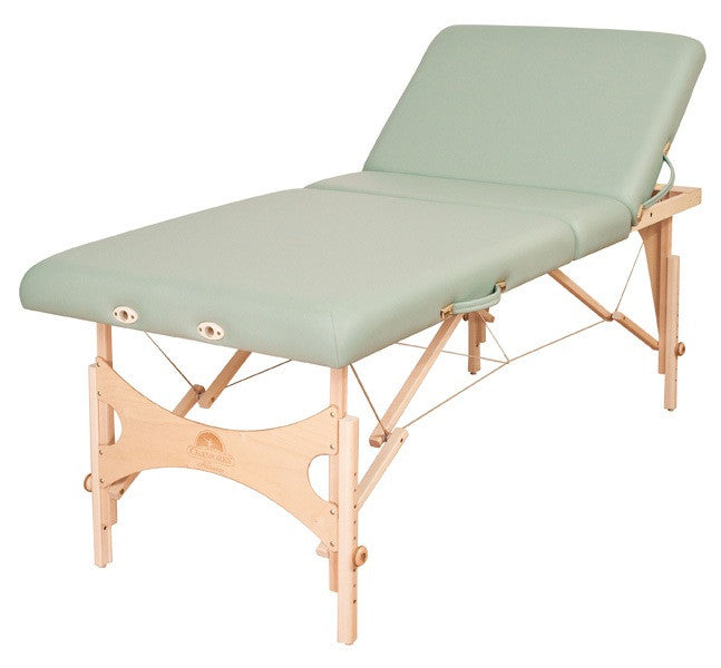 oakworks alliance portable massage table