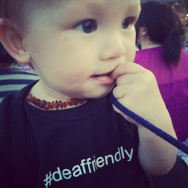 #deaffriendly Onesie