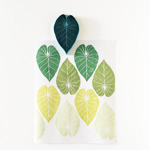 Tropical Leaf Rubber Stamp