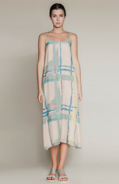 Lamar Printed  Maxi Dress