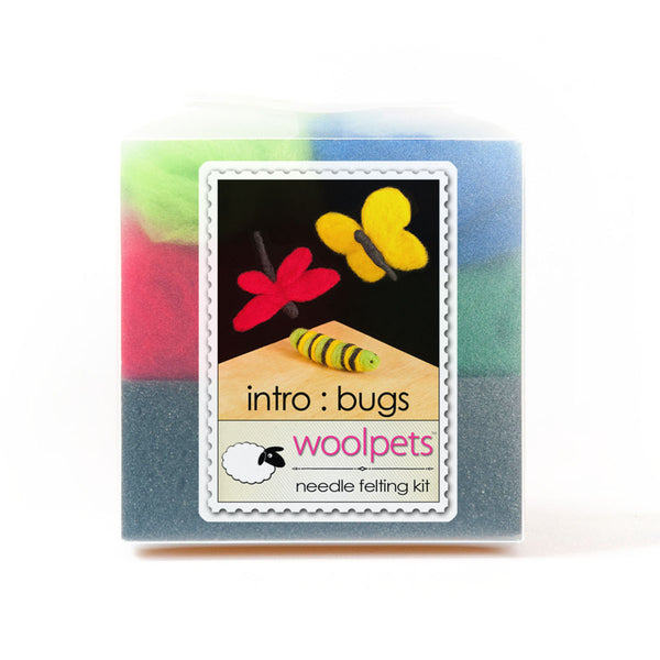 Bugs Needle Felting Kit