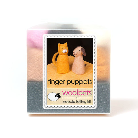 Finger Puppets Needle Felting Kit
