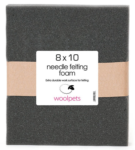 8 x 10 Needle Felting Foam Pad from Woolpets