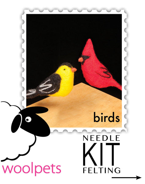 Birds Needle Felting Kit