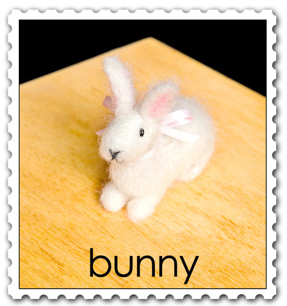 Woolpets Bunny stamp
