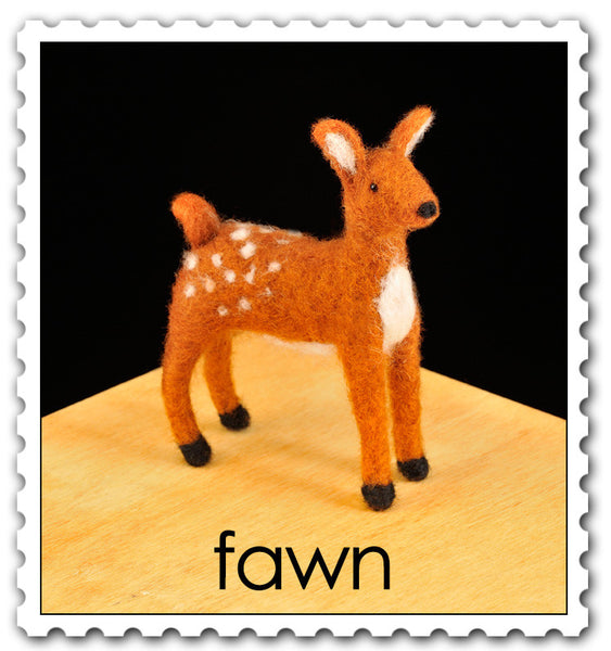 Woolpets Fawn stamp