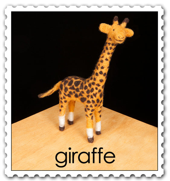Giraffe Needle Felting Kit
