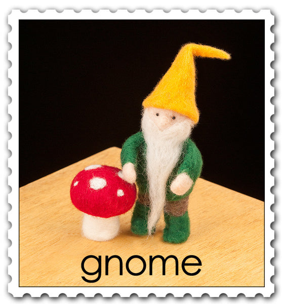 Gnome Needle Felting Kit