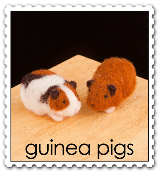 Guinea Pigs Needle Felting Kit