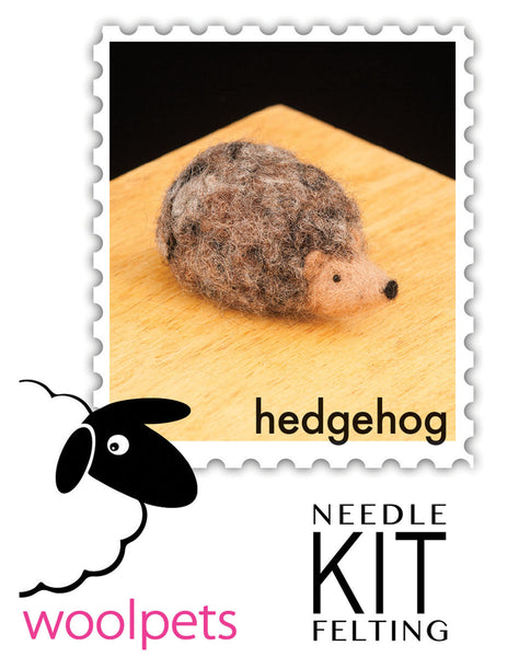 Hedgehog Needle Felting Kit