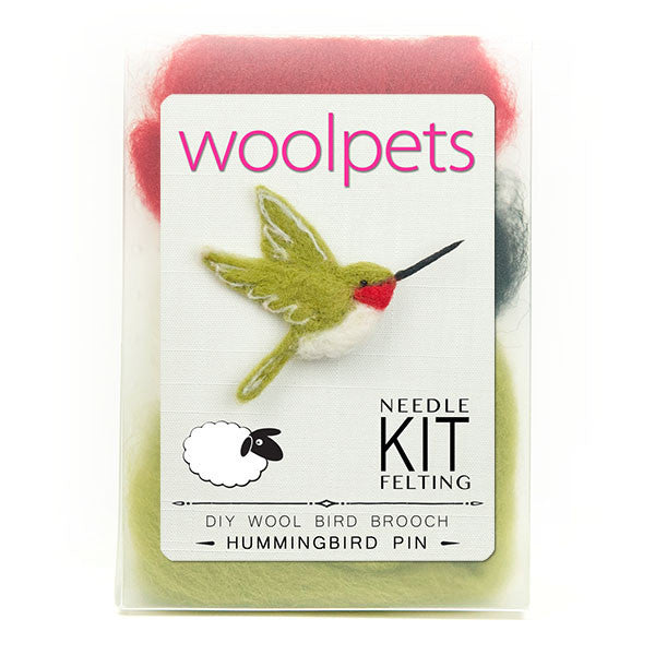 Hummingbird Pin Needle Felting Kit