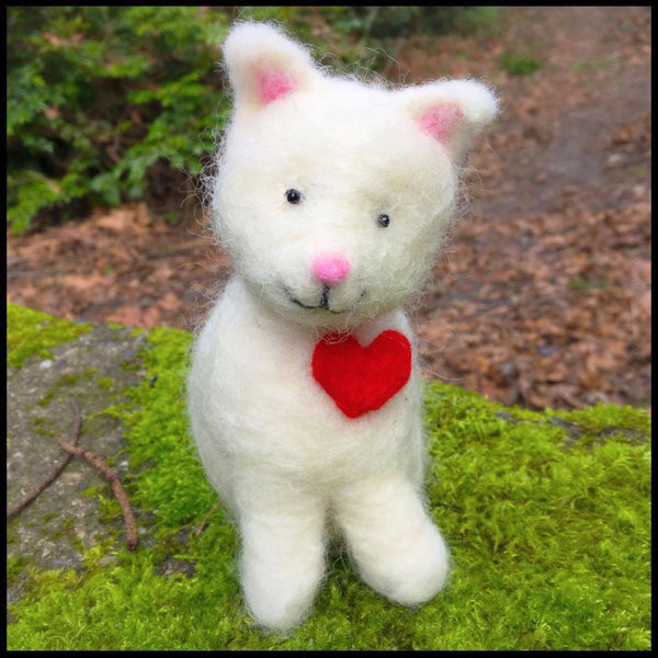 Woolpets White Kitty