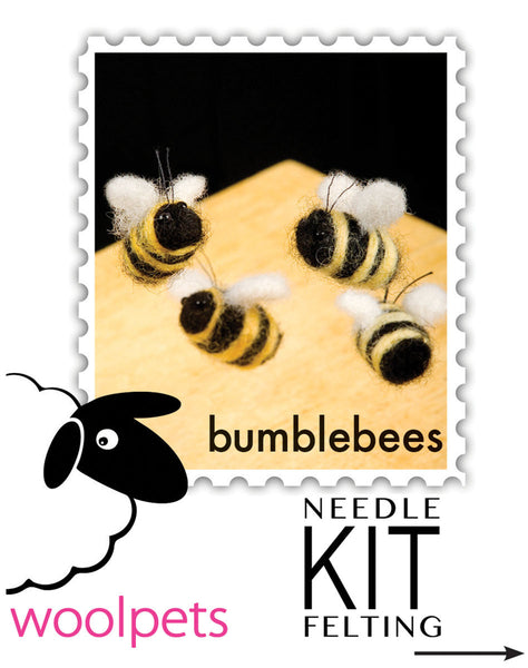 Woolpets instructions cover Bumblebees