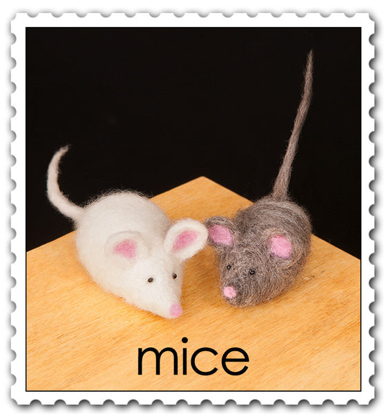 Woolpets Mice stamp