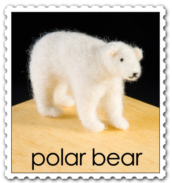 Woolpets Polar Bear stamp