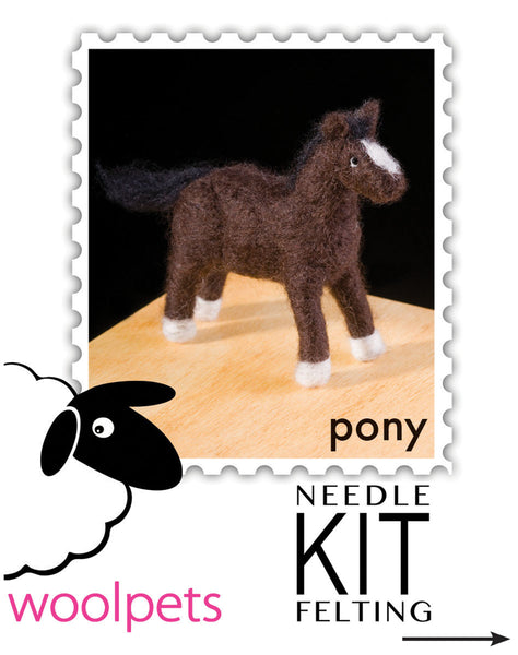 Pony Needle Felting Kit