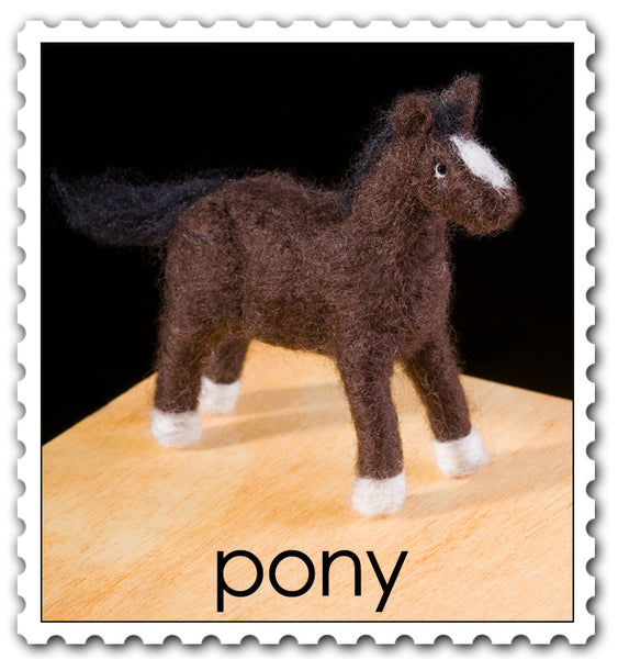 Woolpets Pony stamp