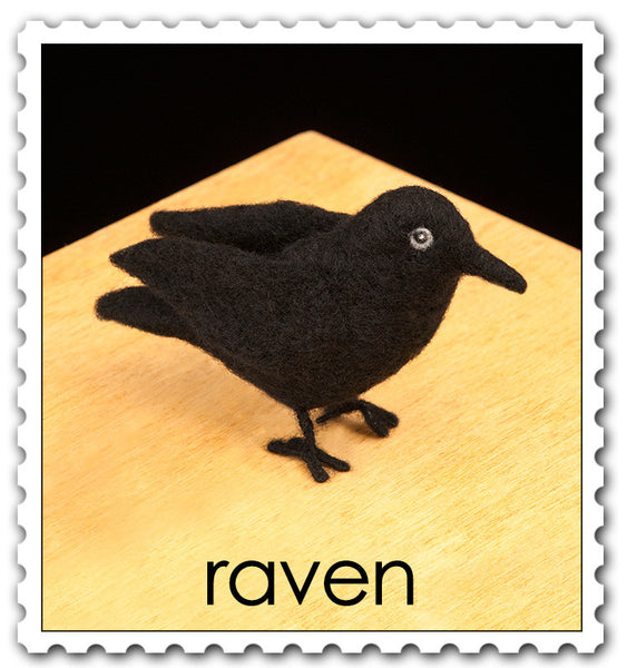 Woolpets Raven stamp