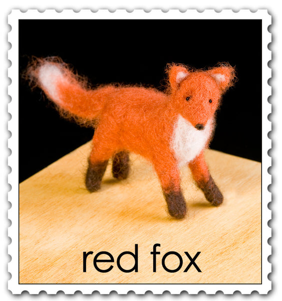 Woolpets Red Fox stamp