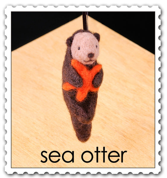 Sea Otter Needle Felting Kit