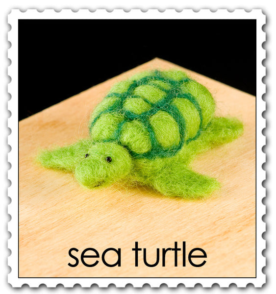 Woolpets Sea Turtle stamp