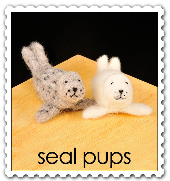 Woolpets Seal Pups stamp