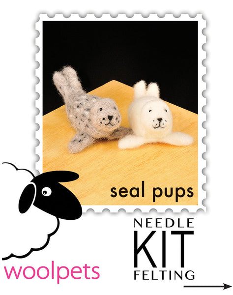 Seal Pups Needle Felting Kit