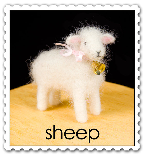 Woolpets Sheep stamp