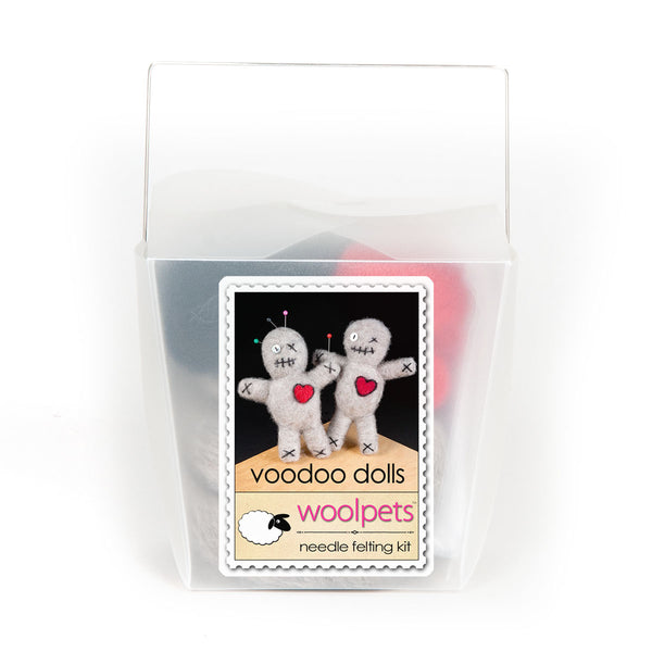 Voodoo Dolls Needle Felting Kit