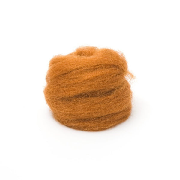 1 oz. Toffee Wool Roving