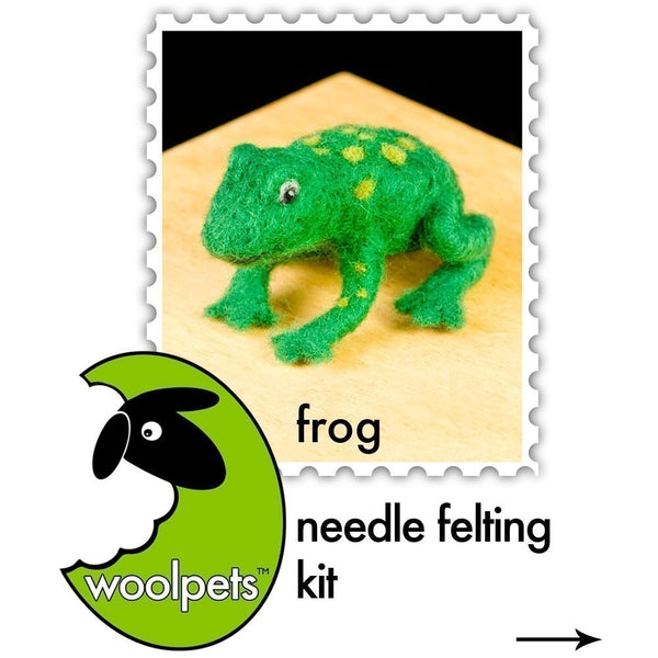 Woolpets Frog instruction cover