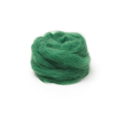 1 oz. Moss Wool Roving
