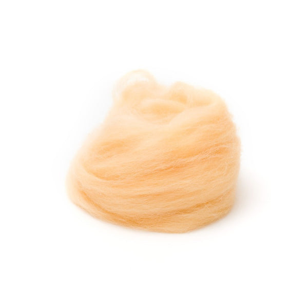 1 oz. Honey Wool Roving